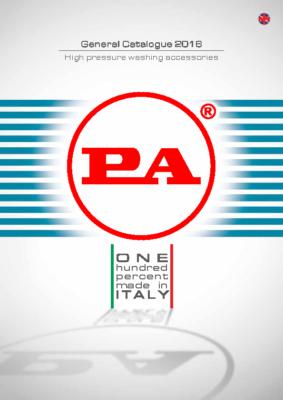 Tartozék katalógus magasnyomású mosókhoz PA 2016