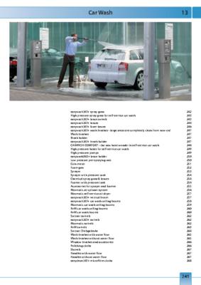 RM autómosó tartozékok